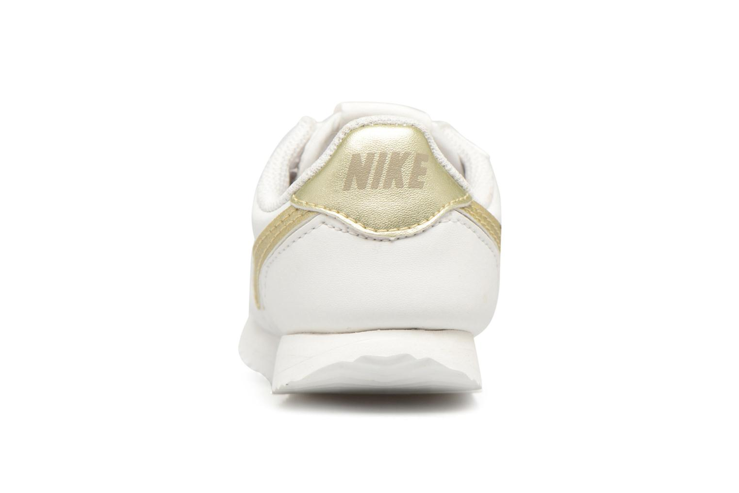Cortez Basic Sl (Tdv) Summit White/Mtlc Gold Star